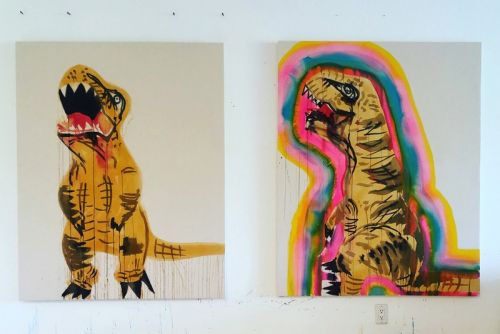 Liz Markus' T-Rexes To Invade Unit London's New Concept Art Gallery