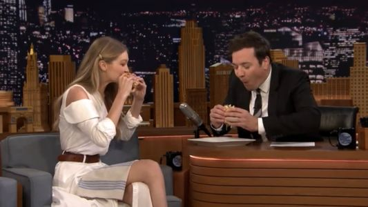 Must Read: Watch Gigi Hadid Eat a Burger - Again - With Jimmy Fallon, Is the Victoria's Secret Fashion Show Turning Into a Media Nightmare?