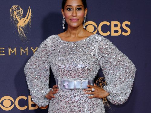 Tracee Ellis Ross Wears All The Feathers, Looks Just Like Her Mom
