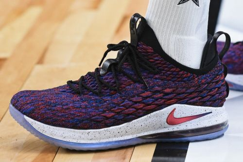 LeBron Wore the New Nike LeBron 15 Low On the Court Last Night