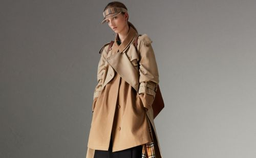 Why did Burberry destroy 28 million pounds of its goods?
