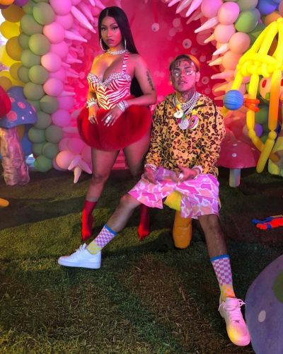 People have mixed feelings about Nicki Minaj working with 6ix9ine