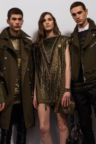 Olivier Rousteing gives new meaning to the Balmain Army