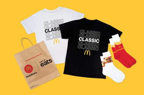 McDonald's Revisits the '90s for Retro-Themed Global McDelivery Day Collection