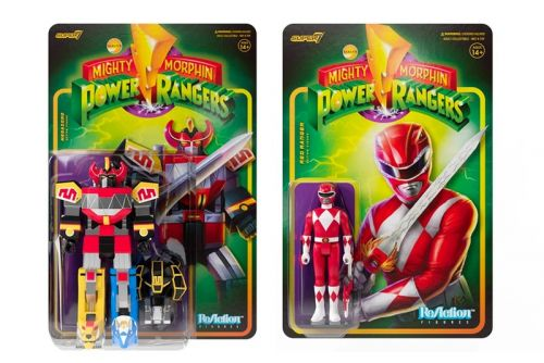 Super7 Drops 'Mighty Morphin Power Rangers' ReAction Figures