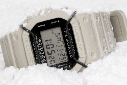 N.HOOLYWOOD & G-SHOCK Reuinite for All-White 5600NH