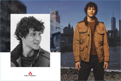 Miles McMillan Braces for the Cold with Peuterey Fall '17 Campaign