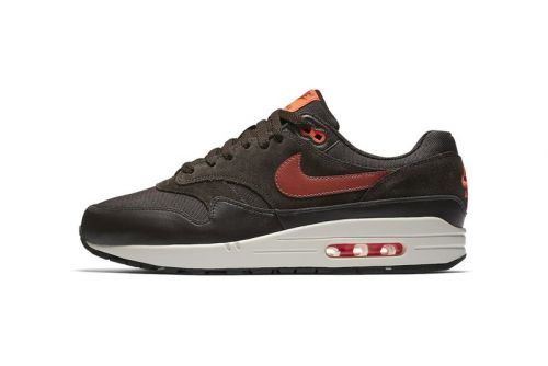 Nike Gets Ready for Fall With a Dark Brown & Orange Air Max 1