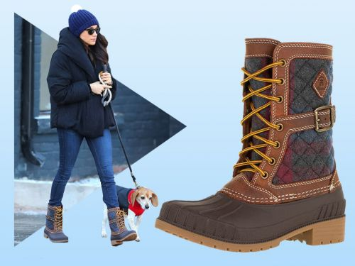 Meghan Markle's Super-Cute Winter Boots - And 9 More Pairs To Get The Look