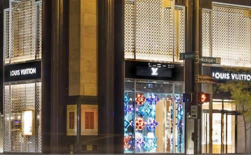 Louis Vuitton opens redesigned Chicago store