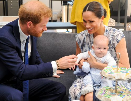 Everything We Learned About Archie After Prince Harry's Interview With James Corden