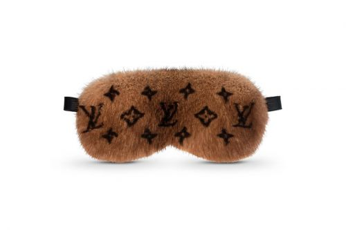 Louis Vuitton Drops Mink Fur Sleep Eye Mask
