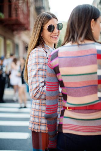 On the Street.Fashion in Detail, New York