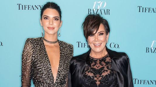 """Kris Jenner Praises Kendall for Doing Her Own Stunts and Fans Are Like Uh, """"She's Just Running"""""""