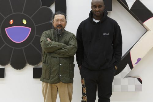 Takashi Murakami Draws on Louis Vuitton Accessories for Virgil Abloh's First Show
