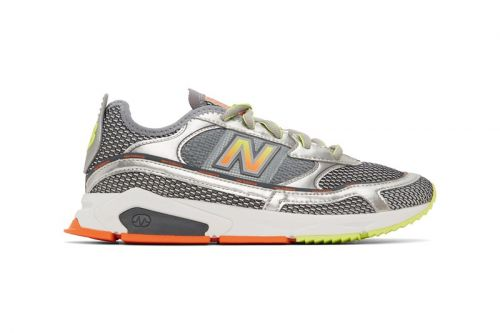 """New Balance's X-Racer Gets Doused in """"Steel/Silver"""" Colorway"""