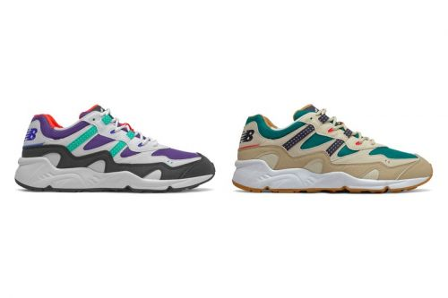 New Balance 850 Receives Two '90s-Indebted Colorways