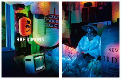Raf Simons Unveils Chinese Inspired Spring '18 Campaign