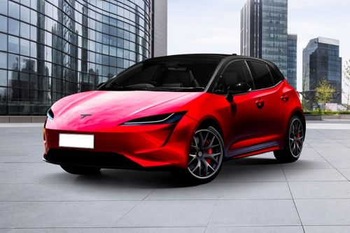 This Is a Rendering of Tesla's Cheaper Hatchback Model in Development