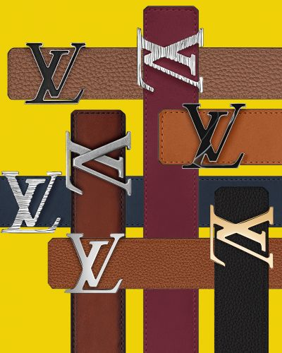 You're Very Own Personalised Louis Vuitton With 'My LV Belt'