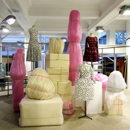 Molly Goddard Unveils A New Installation At Dover Street Market