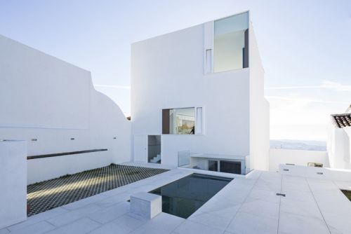 The Claire House Brings Architectural Minimalism to Coastal Spain