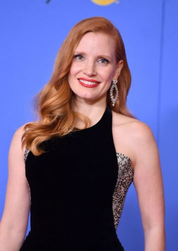 How to Get the Look: Jessica Chastain at the Golden Globes