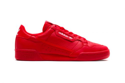 """Atmos Taps adidas for Exclusive Continental 80 """"Scarlet"""""""