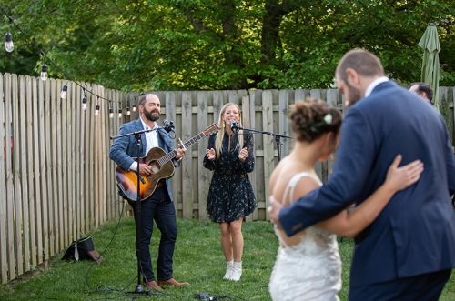 Acclaimed Nashville Singers, Drew & Ellie Holcomb, Show Neighborly Love with a Surprise Wedding Serenade