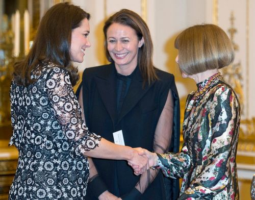 This Is What Kate Middleton Wore to Meet Anna Wintour