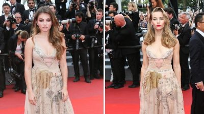 2 Girls, 1 Dress: It's a Cannes Fashion Nightmare!!!!!!