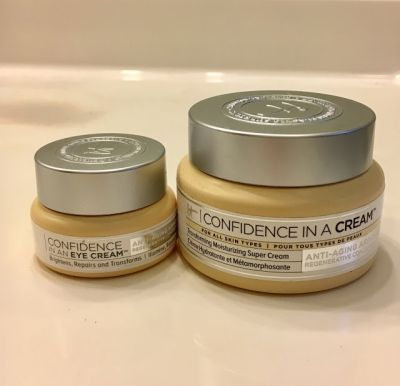 Cool and Confident: IT Cosmetics Confidence in a Cream and Confidence in an Eye Cream
