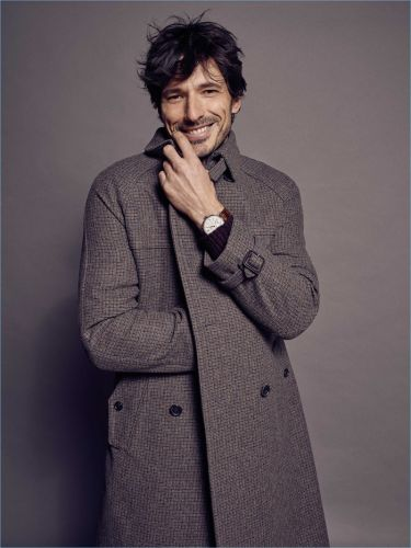 Andres Velencoso Dons IWC Timepieces for Life & Style México