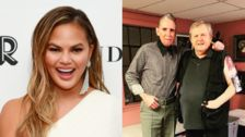 Chrissy Teigen's Dad Gets A Totally Normal Tattoo Of Her Face For Her Birthday