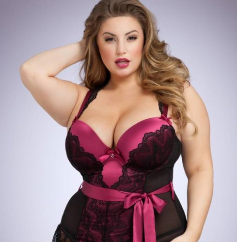 Plus-size model, dubbed the new Ashley Graham, wins her first lingerie campaign