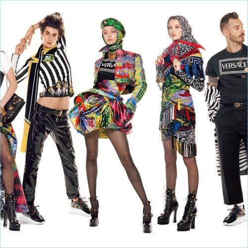 Versace Enlists 54 Models for Fall '18 Campaign