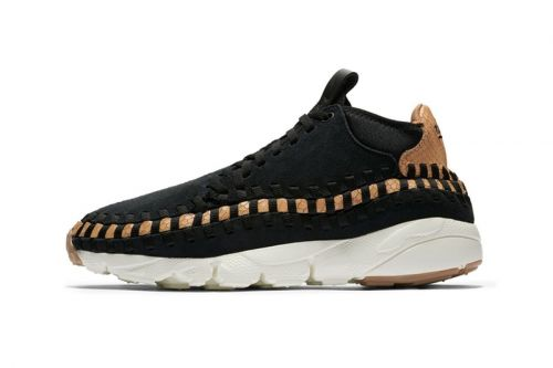 "Nike Debuts Woven Footscape Chukka in ""Dark Russet"""