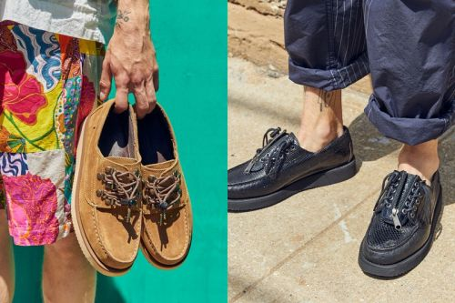 Engineered Garments and Sebago Cobble Together Vibram-Soled Summer Shoes