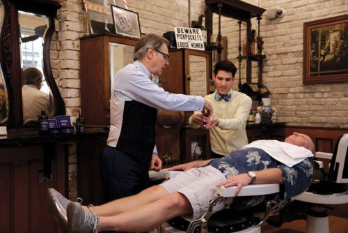 Aidan Gill For Men Recreates the Antique Barbershop Experience