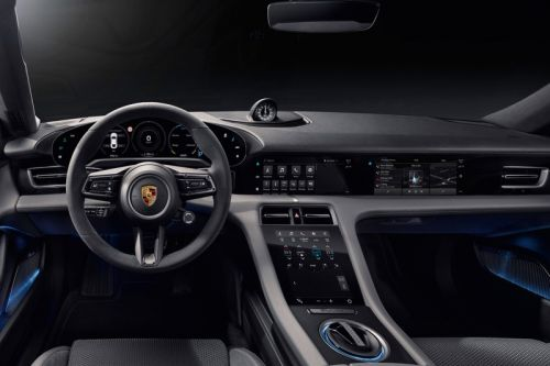 Porsche Unveils Interior of Taycan Electric Vehicle
