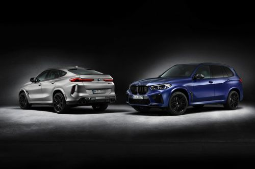"""BMW X5 M and X6 M Competition """"First Edtion"""" SUVs Are 625 HP Family Superwagons"""