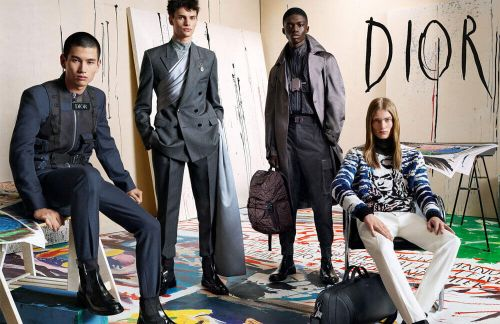Dior Reveal their AW19 Men's Campaign Featuring the Work of Punk Icon Raymond Pettibon
