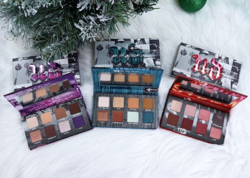 Urban Decay On The Run Palettes