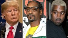 Snoop Dogg Unleashes The Expletives Over Trump And Kanye West