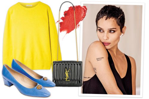 What Zoë Kravitz can't get enough of this fall