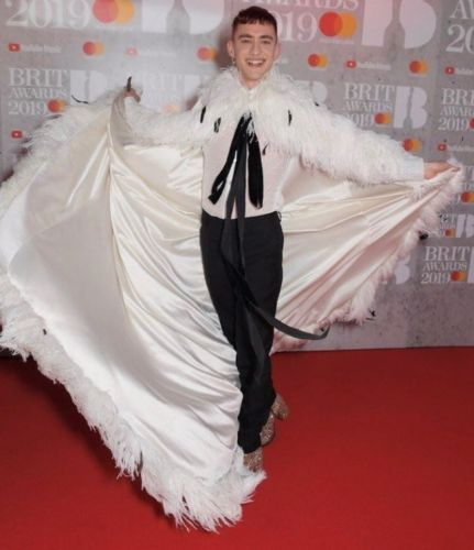 Olly Alexander in Palomo Spain is the 2019 red carpet glam we need