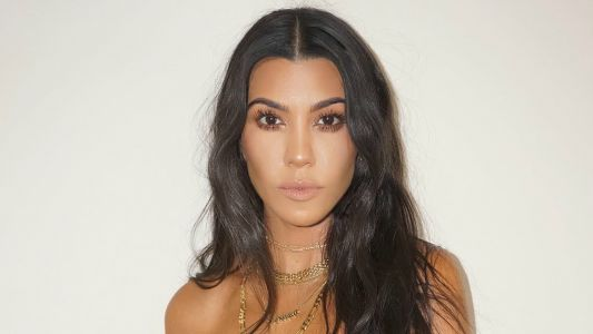 Kourtney Kardashian Reportedly Files Trademark for Makeup Line