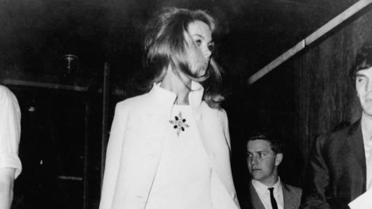 Great Outfits in Fashion History: Jean Shrimpton in a Very Controversial White Dress
