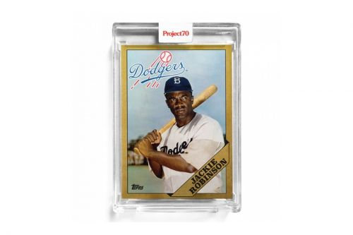 Infinite Archives Launches Special Edition Jackie Robinson Card With Topps