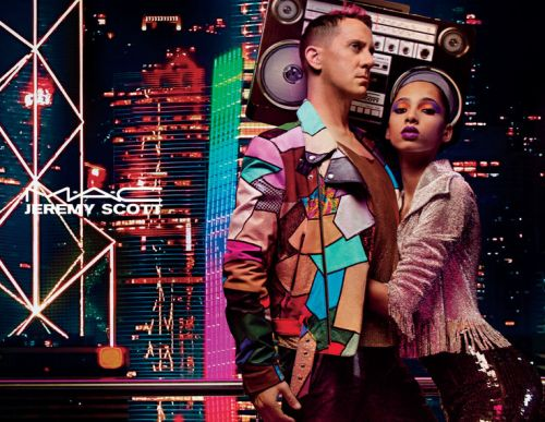 Jeremy Scott Teams Up With MAC For '90s-Inspired Capsule Collection